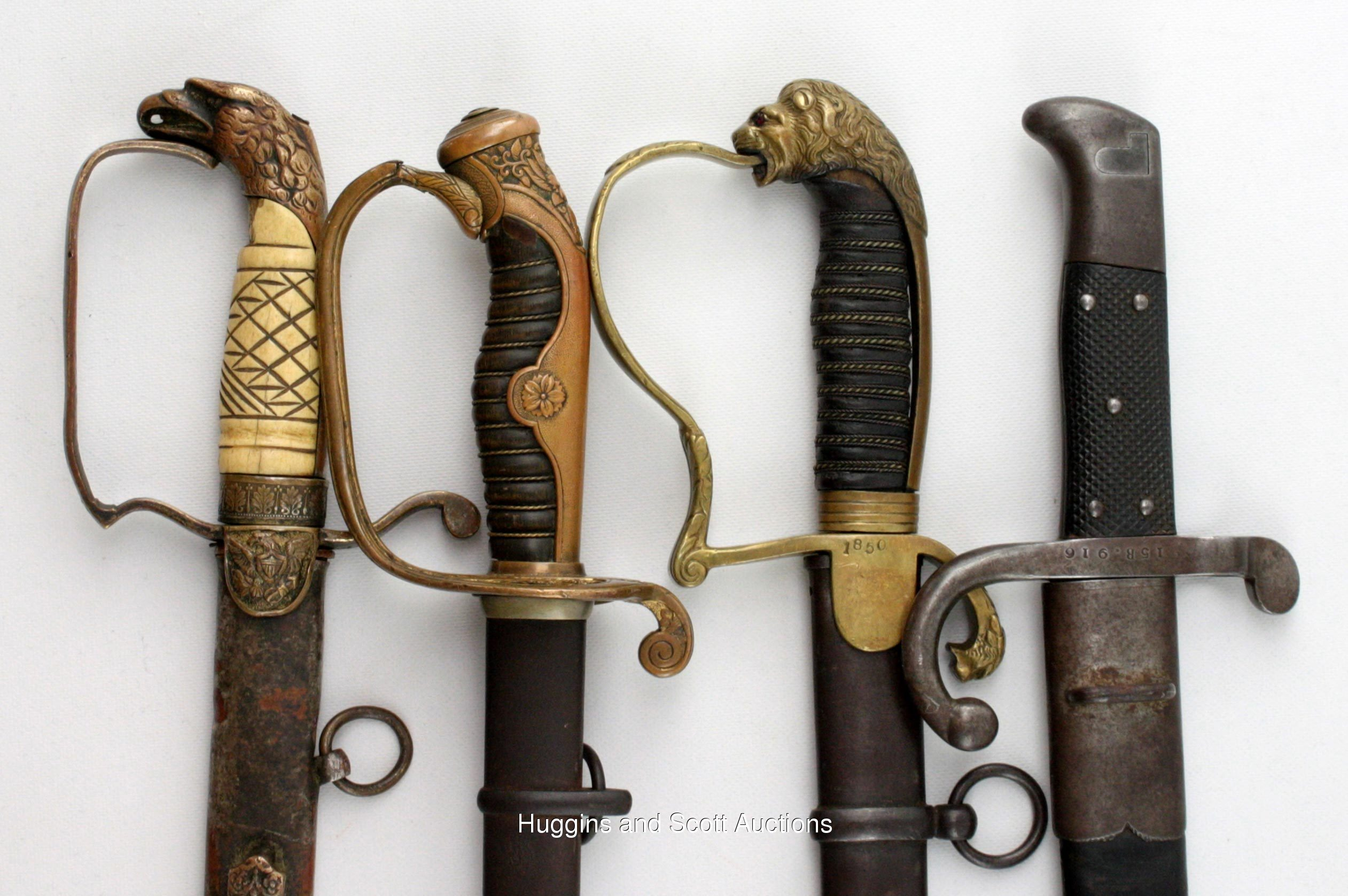 old military swords