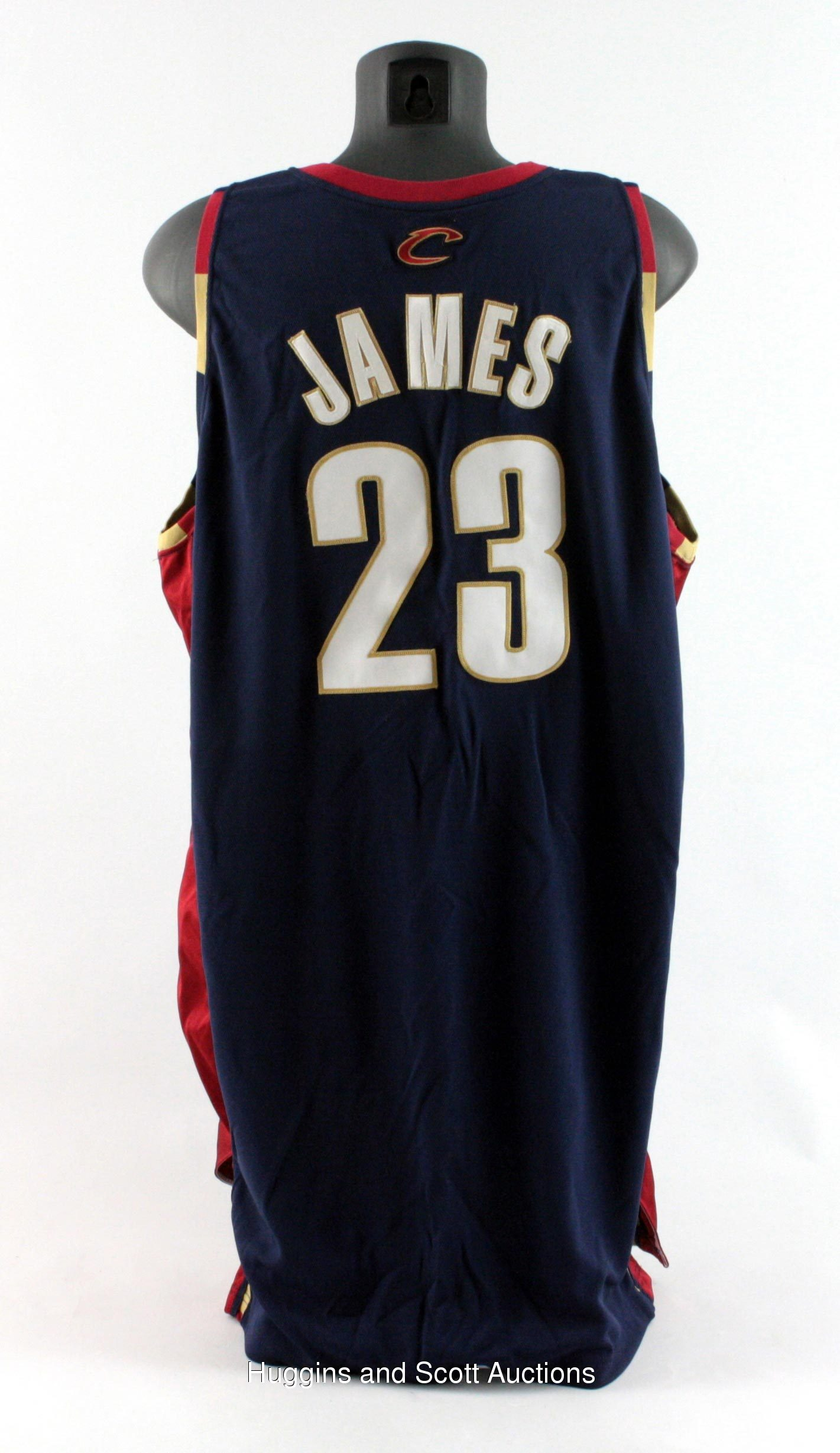 3672e6fd1 2005-06 LeBron James Game-Worn Cleveland Cavaliers Alternate Jersey